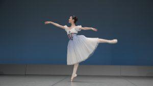バレエダンサーの撮影